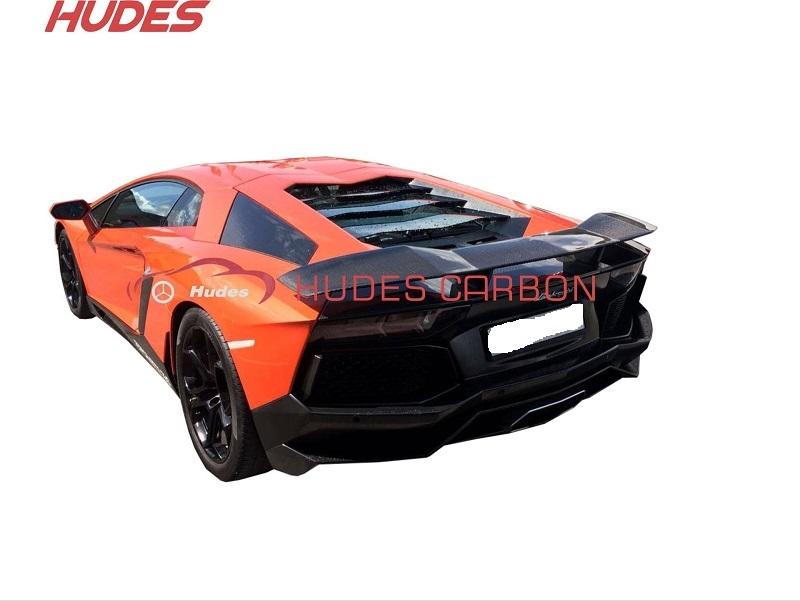 Rear Spoiler For Lamborghini Aventador Lp700 Man Carbon Fiber Lp700
