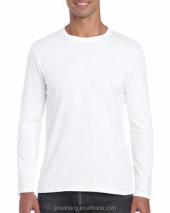 Mens 100% cotton long sleeve bangladesh plain t-shirts