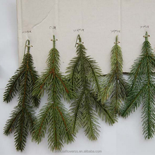 Christmas PE artificial pine branches