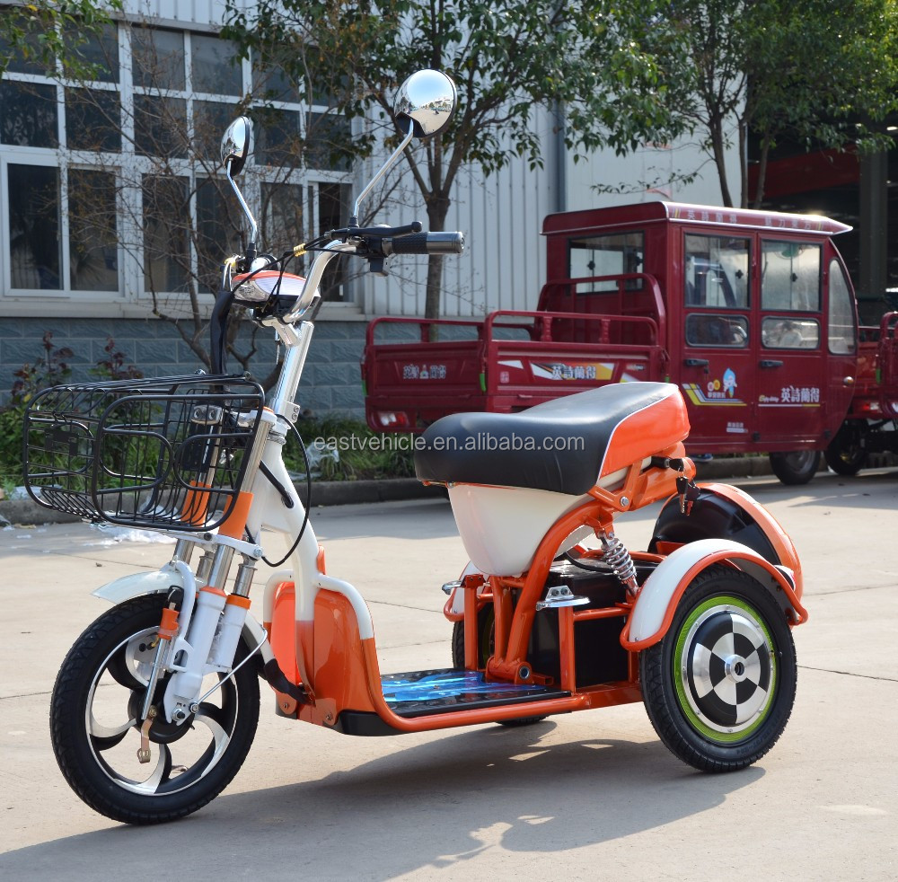 small passenger electric tricycle 1 seat in philippines with shopping box