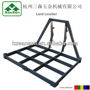 Agriculture machine 3 Point Tractor land leveler lawn leveler