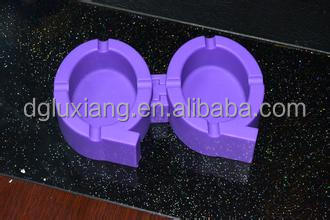 China Supplier Custom Made Round Silicone Ashtray