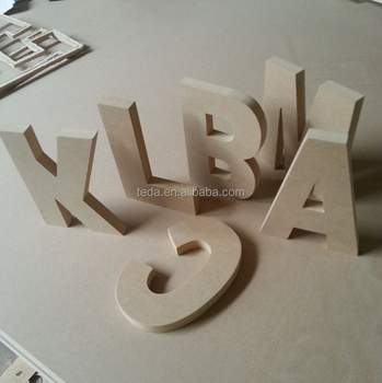 wall hanging decoration big letter for crafts