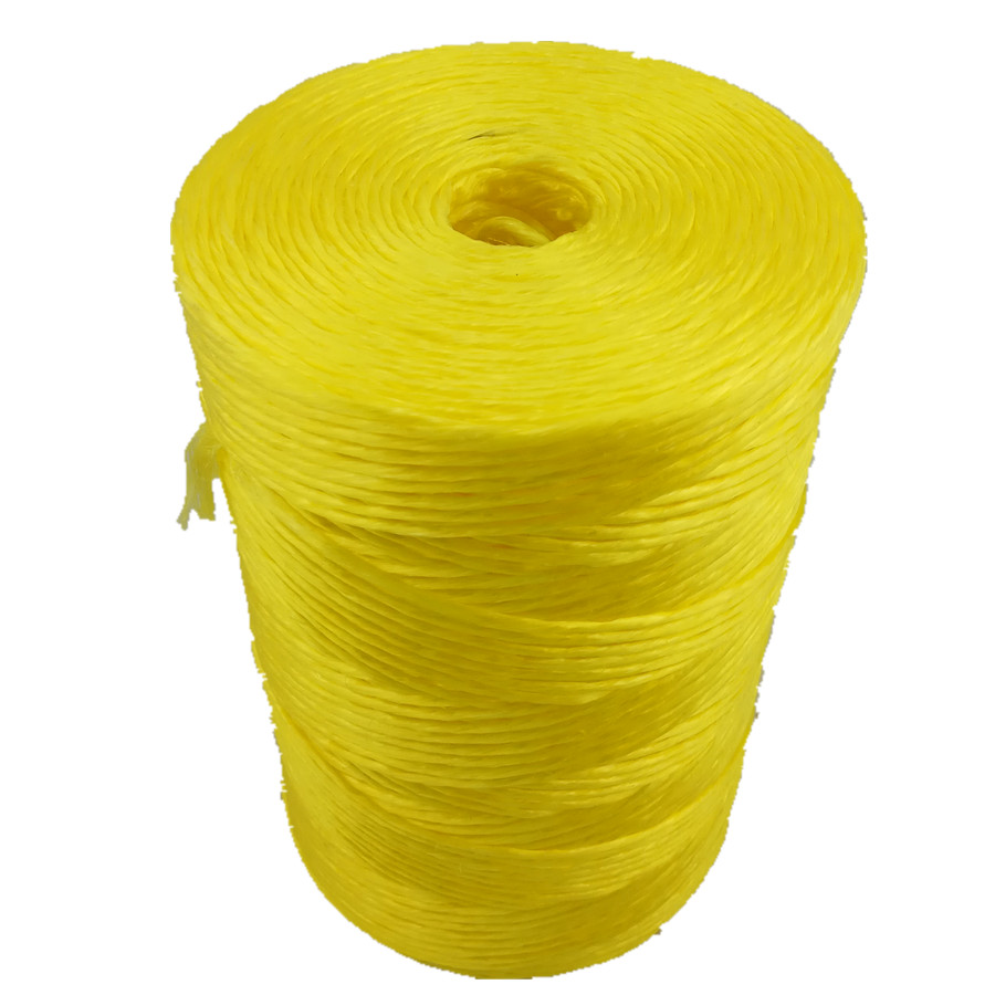2 ply twisted tough pressengarne in gelb farbe, superdan festigkeit