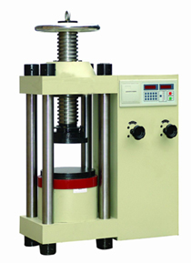 YES-2000 Digital display hydraulic concrete press testing machine+pressure measuring instruments+measuring instrument