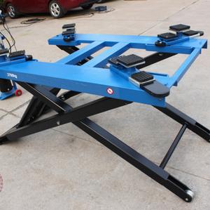 3000kg lifting scissor car lift jack portable / ramp / Auto Lifter / quick  jack car lift ramp