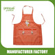 Wholesale Supply Stock Small Grid Cute Rabbit Printing Kitchen Apron Factory/Cheap Bulk Wholesale Aprons Custom Logo