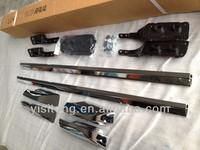 chrome aluminium alloy ABS plastic OEM original style car body parts roof racks bar for Toyota RAV4 2009-2012 auto parts
