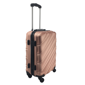 ABS carry on luggage airport trolley suitcase bag