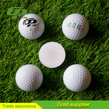 The white golf balls Promotional Logo Customized Cheap Golf Ball