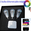 WIFI intelligent led bulb lighting RGB bulb sound and timing remote