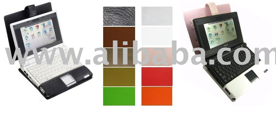 Leather Laptop Case For Eee PC 700 / 701