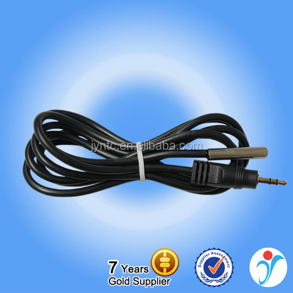 2016 Most Popular 3.5mm Jack Connection Temperature Sensor DS18B20