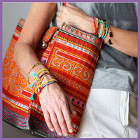 New Fashion In Stocks Handmade Jewelry Colorful Beads Bracelet Woman