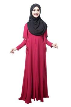 Simple Style Arab Clothing Oem Woman Muslim Dress Fashion Baju Kurung Buy Simple Style Arab Clothing Oem Woman Muslim Dress Woman Baju Kurung