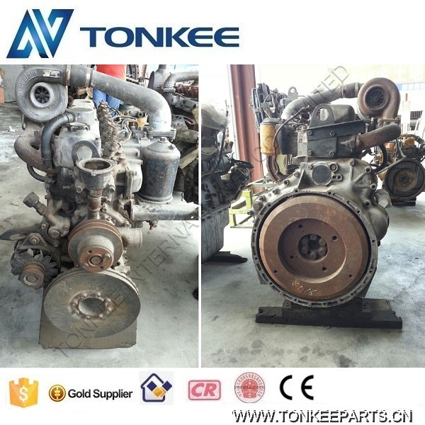 6D16 Complete Engine Assy, 6D16T Complete Engine for Crane, 6D16T Engine for Excavator