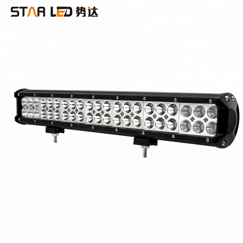 <strong>crees</strong> wholesale 20'' 126w waterproof 12v flood offroad car led light bar for truck