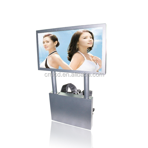 22'' 1920x1080p Human LED display plus gps navigation system Back pack video player