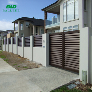 Customized available Size Aluminum Material safety fence gate