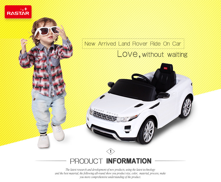 Ride On Toy Rastar Baby Electric Motor Car