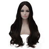 brazilian silk base full lace imitate human hair wig loose wave for black women glueless lace front wigs