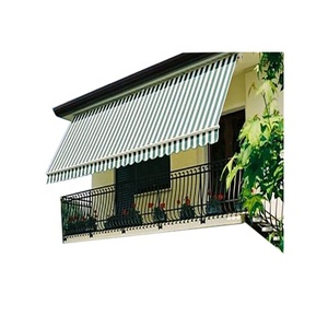 Cheap water proof fabric roof motor retractable awnings