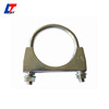 tractor exhaust muffler silencer truck v- clamp/low price muffler v- clamp/high quality alumunized znic v- clamp