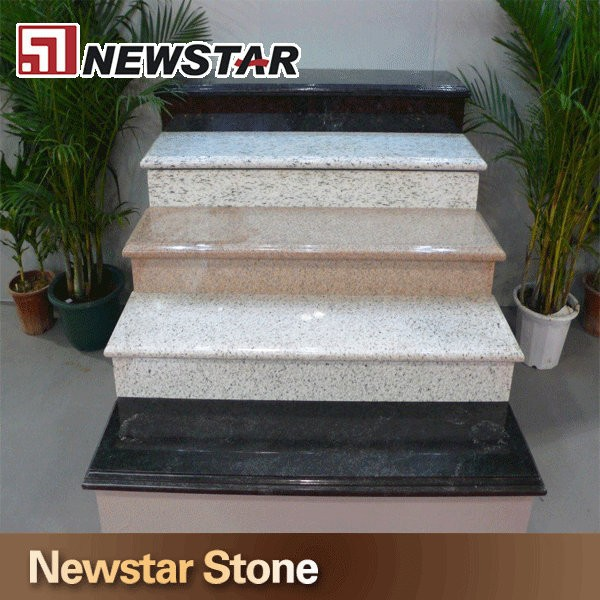 newstar venta caliente pulido escaleras de granito precios