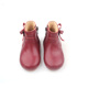 European Roman Date Red Toddler Shoes Hard Sole Girl Shoes Kids Straight Ankle Boots With Zipper