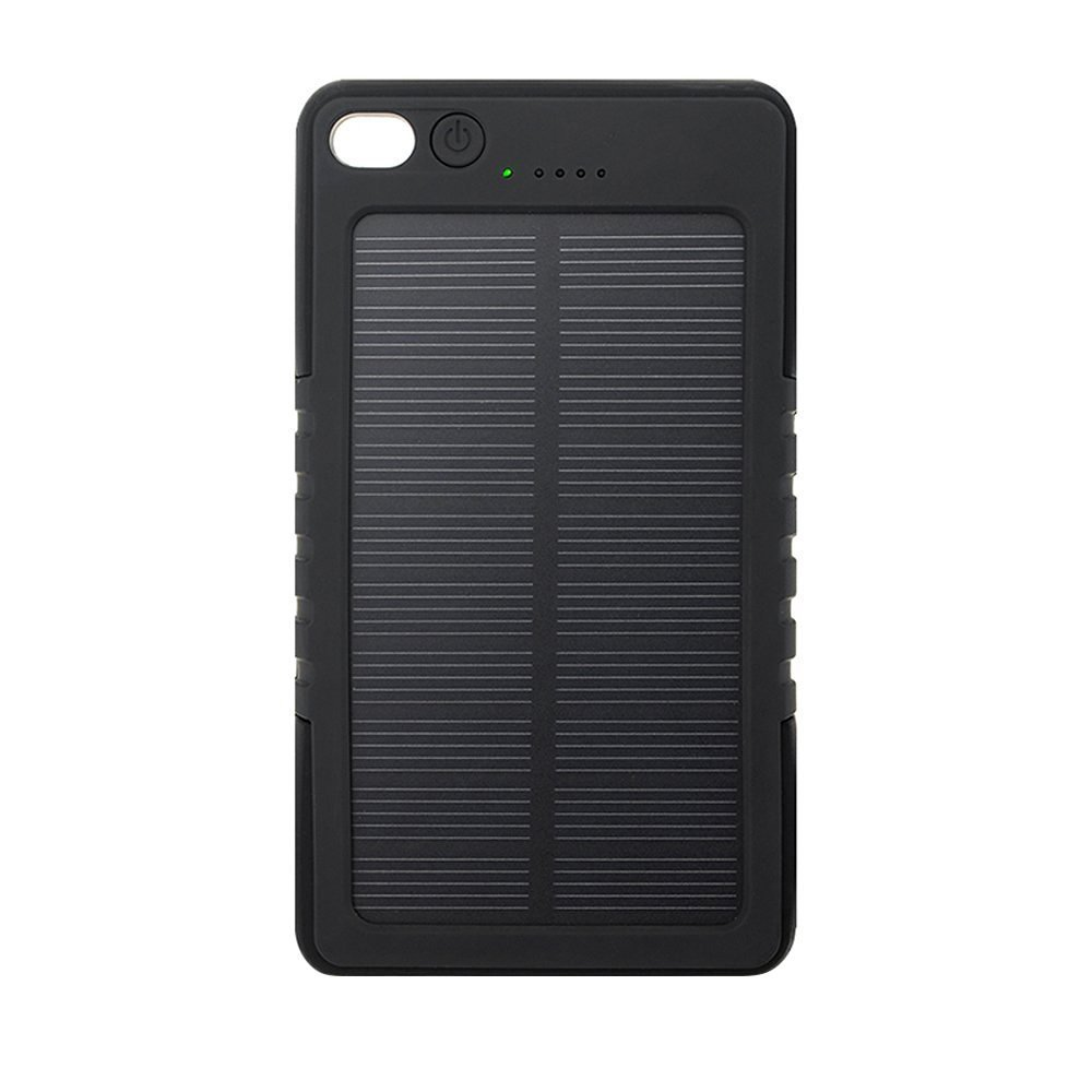 ZhiZhu® 8000 mAh Solar Panel Charger Portable Waterproof/Shockproof/Dustproof Power Bank for iPhone 6 Plus 5S 5C 5 4S, Samsung Galaxy S6 S5 S4 S3 Note 4 3, LG G3, Nexus, HTC One M9, Sony, Nokia, Gopro, GPS and More