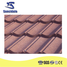 high quality best price 6 waves Cheap stone coated metal roof tile/ asphalt roofing shingle /insulated panels for roofing prices