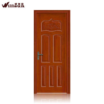 High Quality MDF Soundproof Interior Sliding Barn Doors Swing Shutter Doors  On Sale