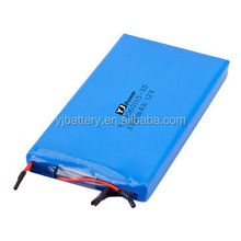 12v 3300mAh 5000mah li polymer battery pack with rechargeable battery cell for led whips with bms