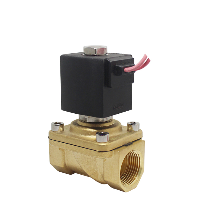 2 inch Brass 2 Way Water 12vdc Solenoid Valve