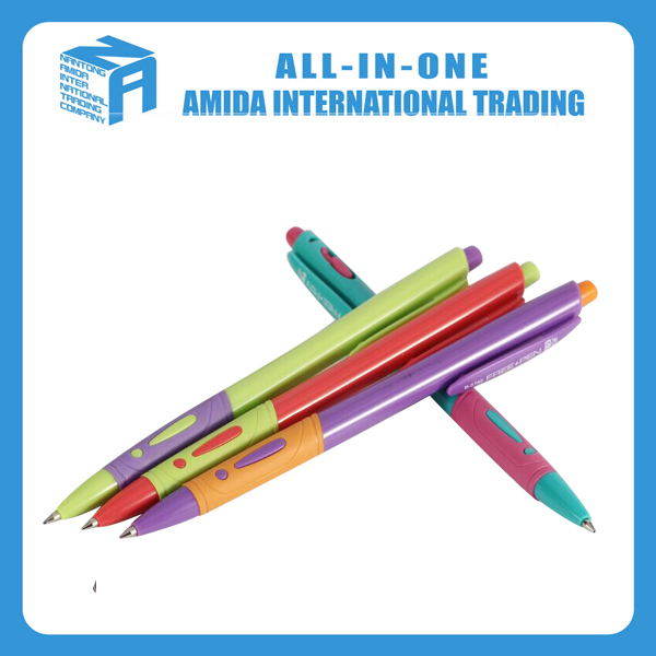 Simple design promotional plastic ballpen