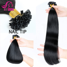 100% Brazilian Human Hair Extensions Blonde Color Prebonded Itip/Utip/Vtip Original Brazilian Human Hair