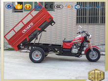 EEC Motorized Three Wheel Tricycle for Cargo Engine 250CC Max Speeed 80km/h