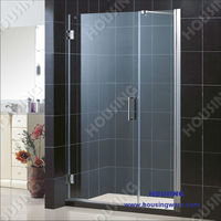Luxury safety toughed glass shower room for your house