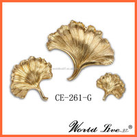 CE-261-G Contemporary Resin Leaf Set Wall Decoration/ Wall Hangings
