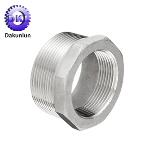OEM Precision Aluminum Threaded Pipe Hex Bushing