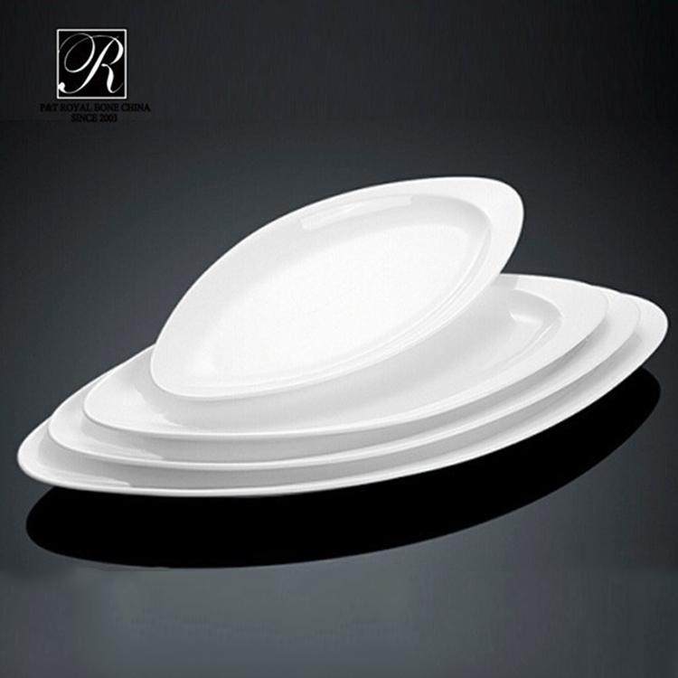 P&T Royal Ware buffet serving dish wholesale dinner plates white porcelain dinner plates