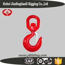 322C Drop forged chain lifting swivel hooks