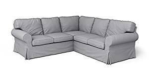 Get Quotations Custom Made Slipcovers For Rp Corner Sofa Bed 2 Light Grey