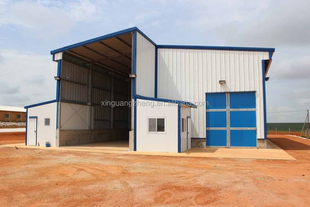 Feed mill storage building exported to Angola