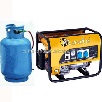 lonfa 3kw 3kva propane manual electric generators buy propane rh alibaba com Coleman Powermate 6250 Generator Manual Manual Power Generator