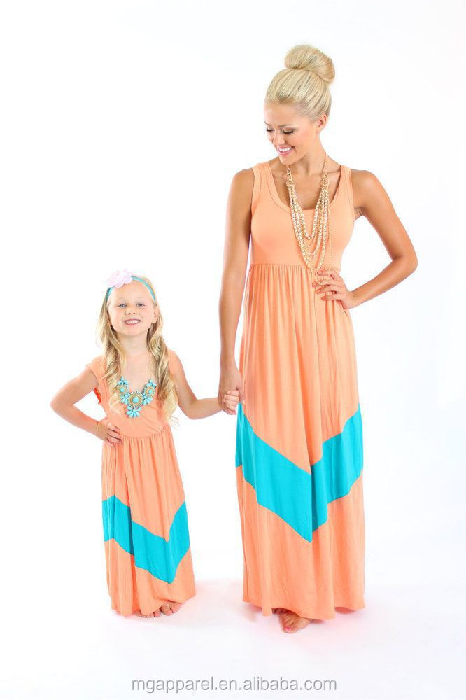 17070f023f993 2015 Fashion Mommy And Me Maxi Dress Summer Chevron Dress Mother Daughter  Outfits - Buy Mommy And Me Maxi Dress,2015 Summer Maxi Dress,Mother  Daughter ...