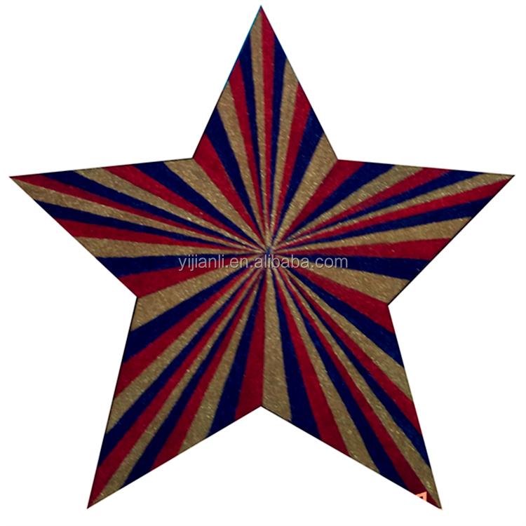 15cm 6  LASER CUT MDF WOODEN  SHAPES 15Omm MDF STARS
