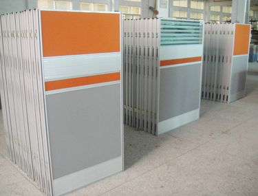 Office Partition Wall Material Full Height Office Partition Aluminum Partition  Office Cubicle Workstation