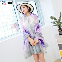 chinese supplier beach towel sarong dubai sexy girl photos soft chiffon scarf and shawl in 39 colors