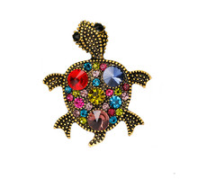 European and American style accessories factory wholesale animal insect tortoise brooch pin